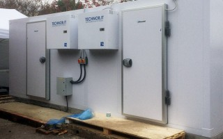 COLD ROOM INSTALLATION AT BOOT INN HOUGHTON