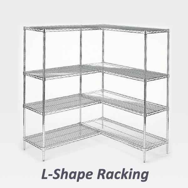 L-Shape Racking for Cold Room 1990 x 2990 mm